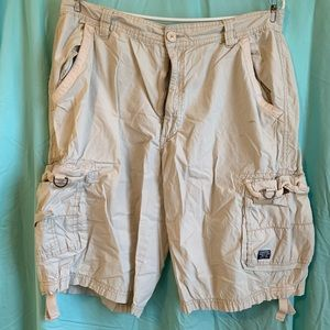 Beige Cargo Shorts MENS SALE!!! HUGE DISCOUNTS!!!